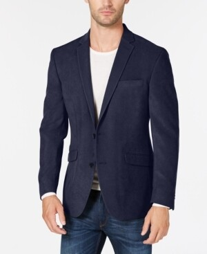 Kenneth Cole Sportcoat 40R Blue