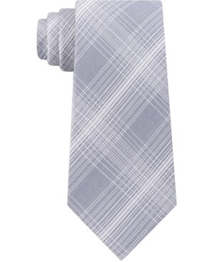 Kenneth Cole Tie Silver