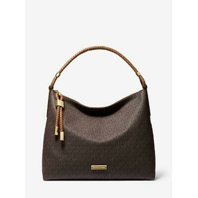 MK Lexington Large Logo Shoulder Bag