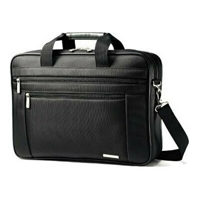 Samsonite Black Classic Business 2-Gusset Briefcase