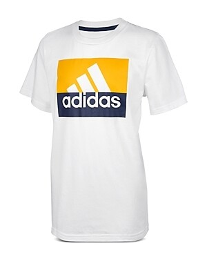 Adidas Big Boys Colorblocked Tee