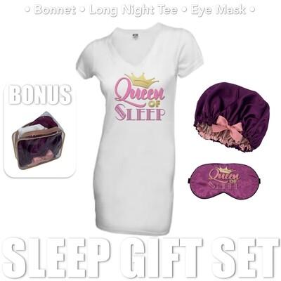 Queen of Sleep Gift Set - Purple