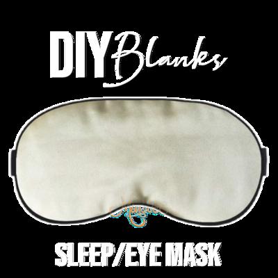 DIY Blanks - Sleep Masks