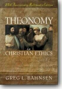 Theonomy in Christian Ethics CD-Rom