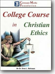 College Course in Christian Ethics