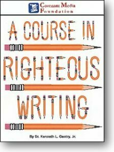 A Course in Righteous Writing
