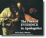 The Place of Evidence in Apologetics CD