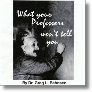 What Your Professors Won't Tell You