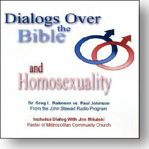 Dialog Over the Bible and Homosexuality