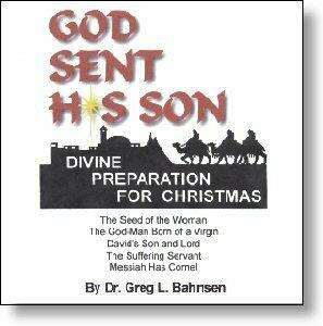 God Sent His Son: Divine Preparation for Christmas