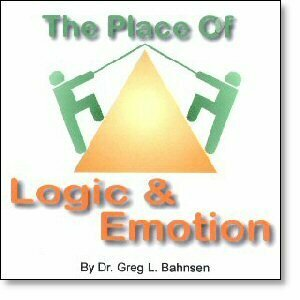 The Place of Logic and Emotion