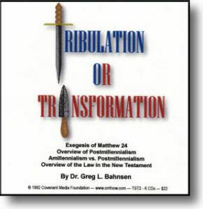 Tribulation or Transformation
