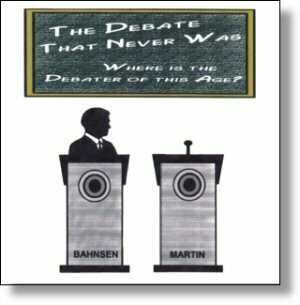 The Debate That Never Was