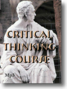 Critical Thinking Course Mp3 on CD