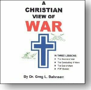 A Christian View of War