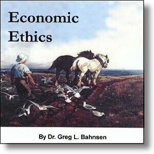 Economic Ethics