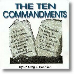 The Ten Commandments - Bahnsen