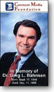 Greg Bahnsen Memorial Service