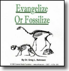 Evangelize or Fossilize