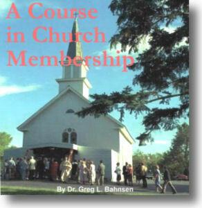 Course in Church Membership
