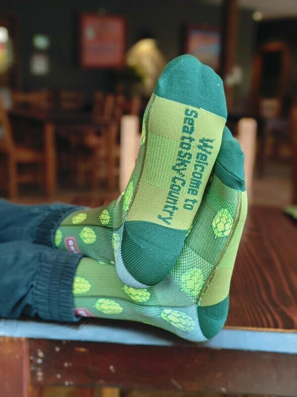 Mountain Bike Hop Socks - Howe Sound Brewing