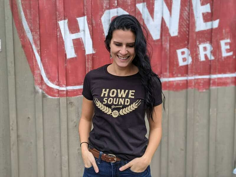 Women's Vintage Logo T-shirt - Howe Sound Brewing