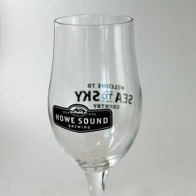 16oz Tulip Glass - Howe Sound Brewing