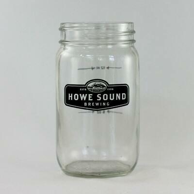 12 Mason Jar - Howe Sound Brewing