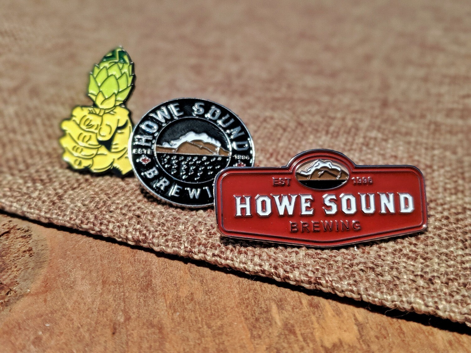 Lapel Pins - Howe Sound Brewing