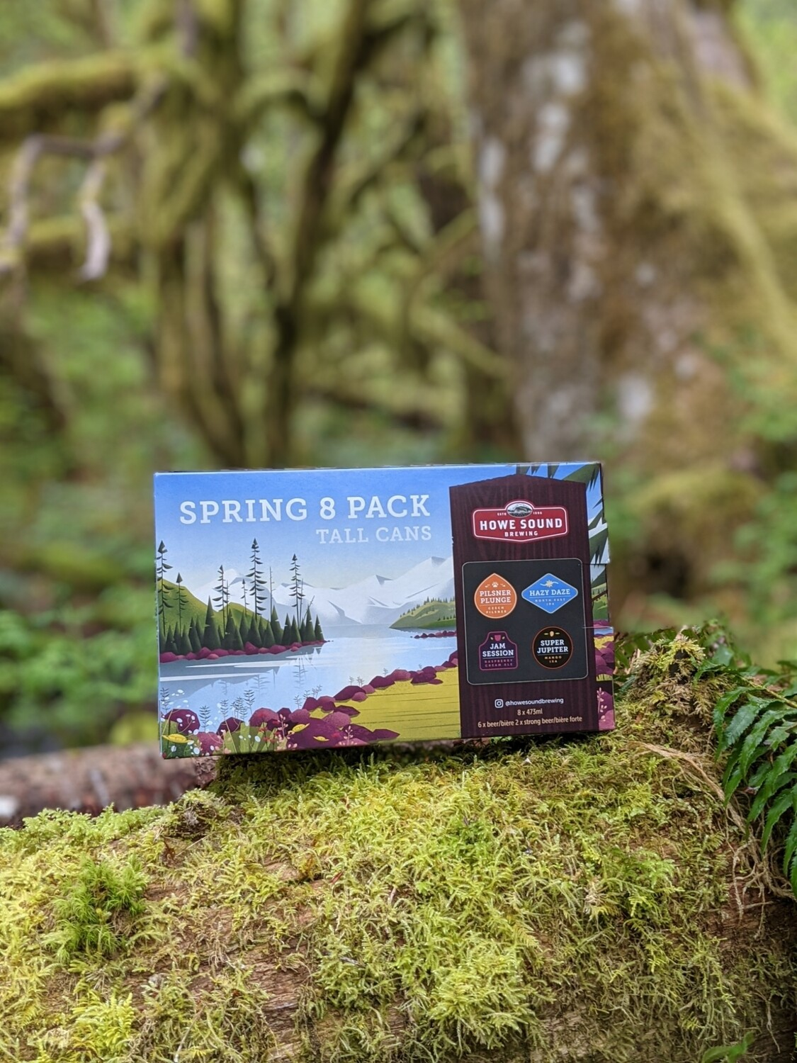 Spring 8 Pack Mix-pack
