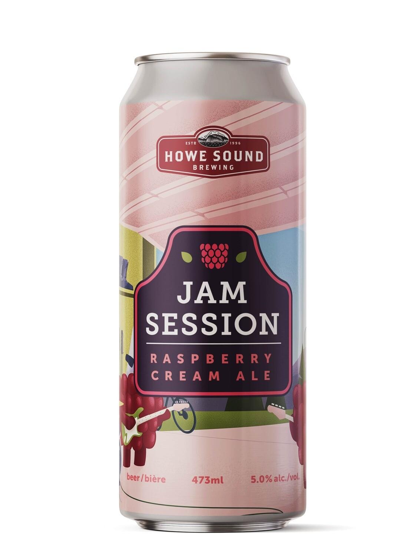 Jam Session Raspberry Cream Ale