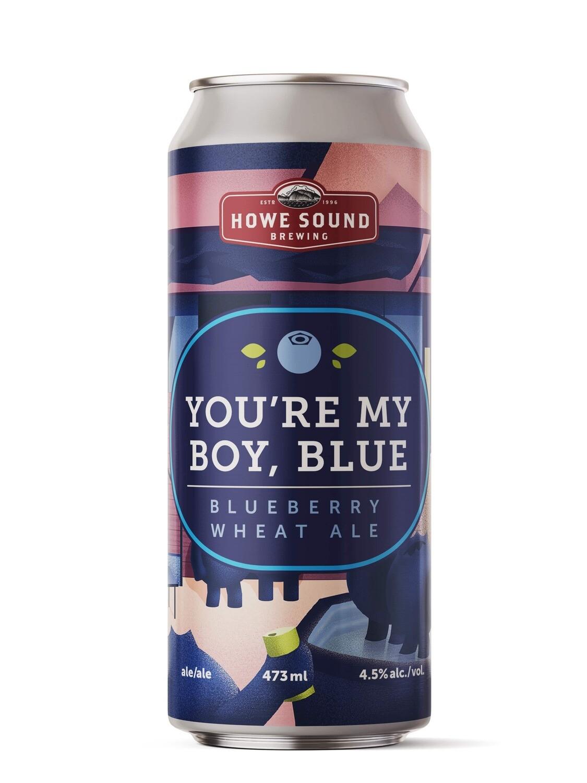 You're My Boy, Blue! Blueberry Wheat Ale