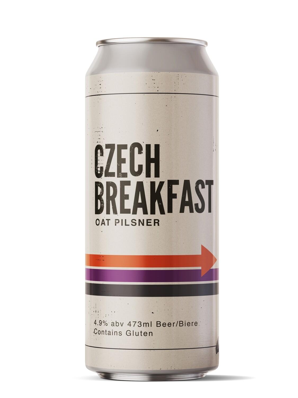 Czech Breakfast Oat Pilsner
