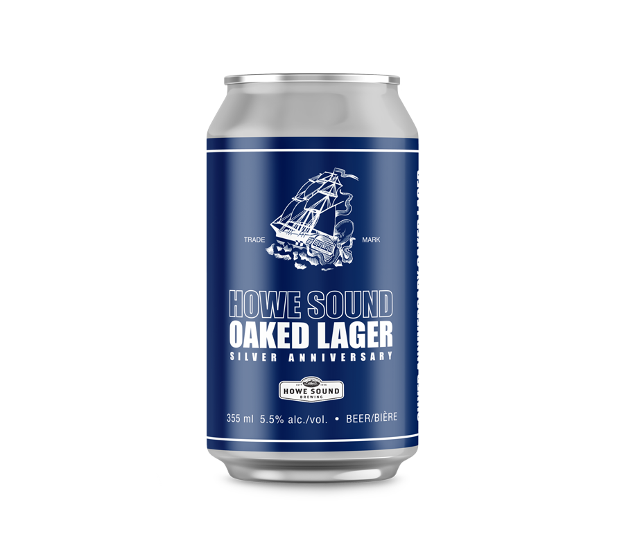 Howe Sound Oaked Lager - Silver Anniversary