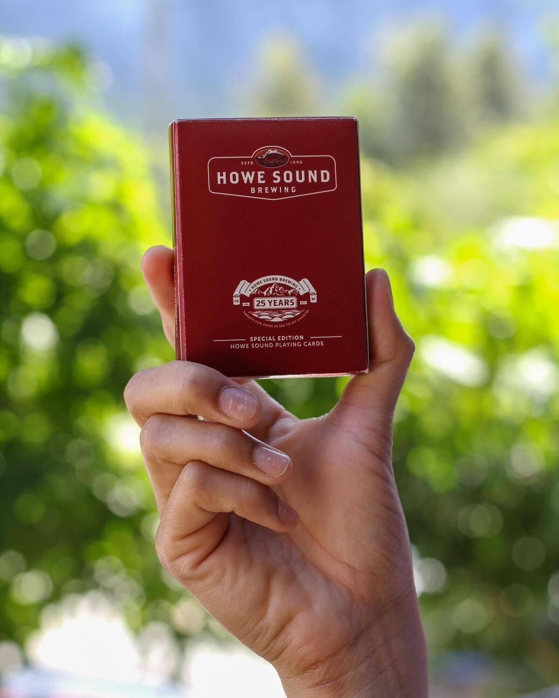 Custom Poker Cards - Howe Sound Brewing