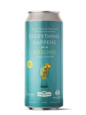 Everything Happens for a Riesling Double IPA