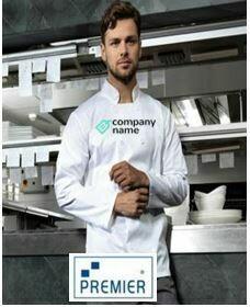 Premier White Long Sleeve Classic Chef Jacket