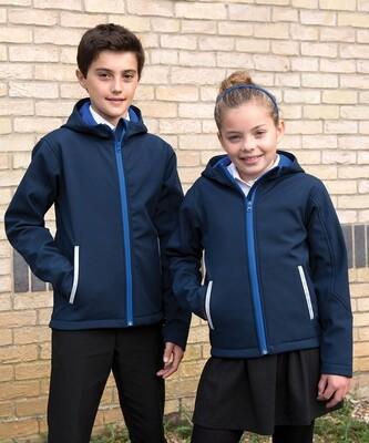 Result Core junior TX performance hooded softshell jacket