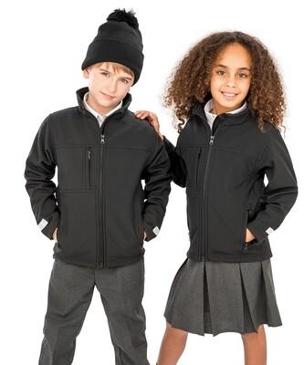 Result Junior classic softshell 3-layer jacket