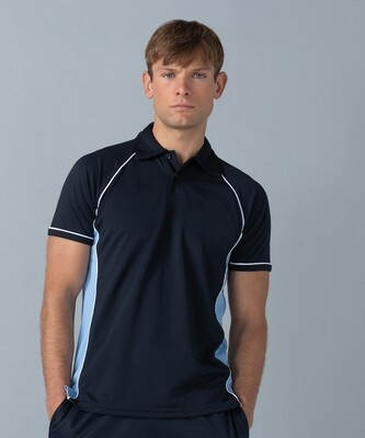 Finden & Hales Piped performance polo