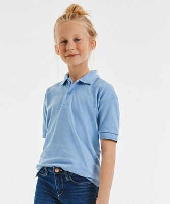 RUSSELL Kids hard-wearing polo shirt