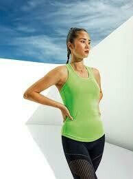 TriDri Women's performance strap back vest