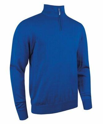 Glenmuir Devon zip-neck cotton sweater
