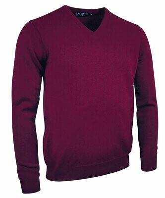 Glenmuir Lomond lambswool v-neck sweater