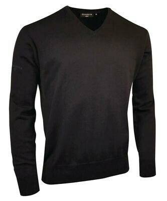 Glenmuir Eden cotton v-neck sweater
