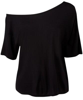 Women's TriDri® off-the-shoulder top