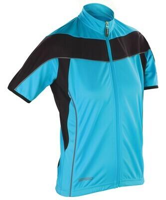 Women's Spiro bikewear full-zip top