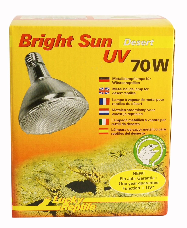 Lucky Reptile Bright Sun UV Desert 70 Watt