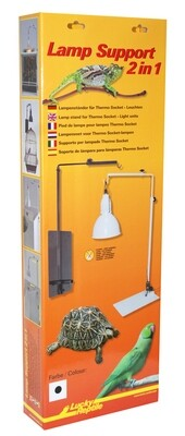 """Lucky Reptile Lamp Support """"2 in 1"""" - schwarz"""
