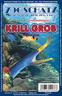 Krill grob 100g Frostfutter